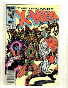 10 Uncanny X-Men Marvel Comics # 192 193 194 195 196 197 198 199 200 202 SM13