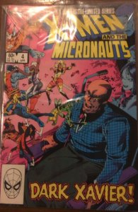 The X-Men and The Micronauts #4 (1984)