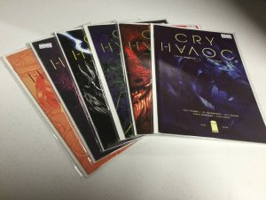Cry Havoc 1 2 3 4 5 6 Nm Near Mint Lot B Image Comics