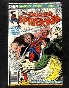 Amazing Spider-Man #217 Hydro-Man Sandman!