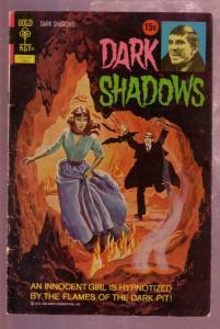 DARK SHADOWS #13 1972- HORROR VAMPIRES-JONATHAN FRID-TV-very fine minus VF-