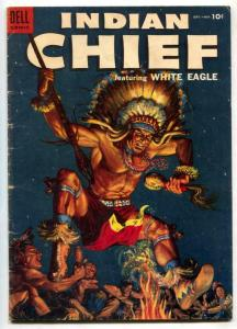 Indian Chief #16 1954- Dell Western- White Eagle VG