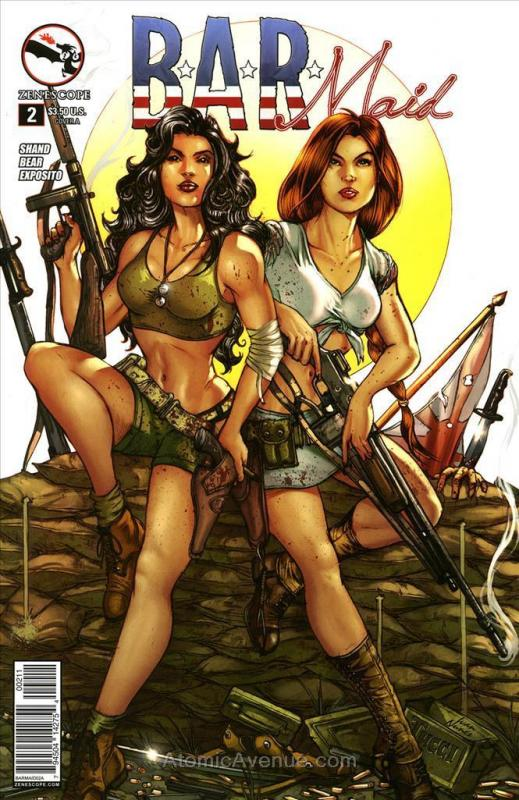 B.A.R. Maid #2A VF/NM; Zenescope | save on shipping - details inside