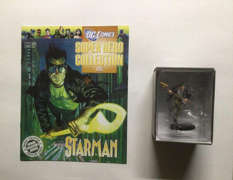 Starman 88 Super Hero Collection Lead Figure and Magazine Dc Eaglemoss