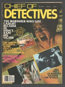Chief of Detectives-Fall 1981-Grand Robbery-Dismemberment-lurid crime-violenc...