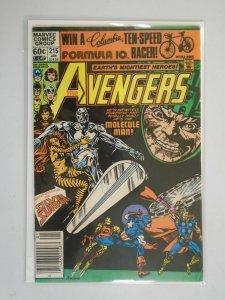 Avengers #215 featuring Silver Surfer Newsstand 6.0 FN (1982 1st Series)