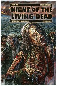 NIGHT of the LIVING DEAD Aftermath #6, NM, Wrap, 2012, more NOTLD in store