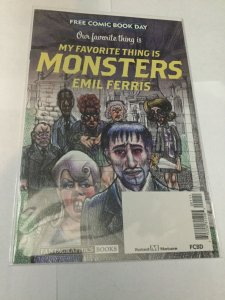 My Favorite Thing Is Monsters Free Comic Book Day Nm Near Mint Fantagraphics