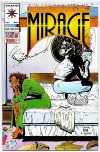 Second Life of Doctor Mirage #3 Signed by Bernard Chang (Valiant, 1994)