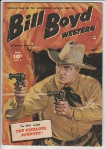 Bill Boyd Western #2 strict FN  6.0   Giant Golden Age Collection Found
