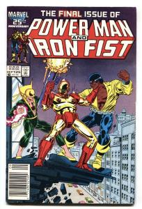 Power Man and Iron Fist #125 Rare LAST ISSUE-comic book