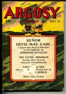 Argosy-Pulp-9/21/1940-William Chamberlain-Perry Adams