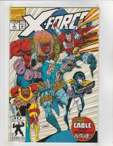 X-FORCE #8, NM, Marvel, Cable, ShatterStar, Domino, 1991 1992, more XF in store,