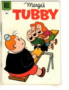 Marge's Tubby # 28 FN Dell Silver Age Comic Book Cartoon See-Saw JL18