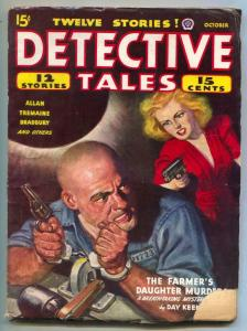 Detective Tales Pulp October 1944-Farmer's Daughter Murders