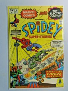 Spidey Super Stories #3 1st Series 4.0 VG (1974)