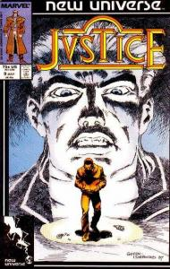 Justice (1986 series) #9, NM- (Stock photo)