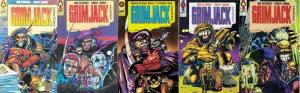 GRIMJACK CASEFILE 1-5  all-new cover art by STEVE PUGH