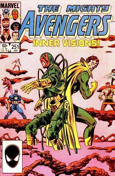 Avengers #251 (ungraded) stock photo ID#B-1