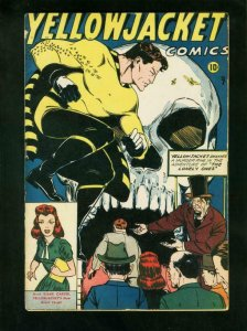 YELLOWJACKET COMICS #7 1946-1st DIANE CARTER-1st OLD WITCH-very good/fine VG/FN
