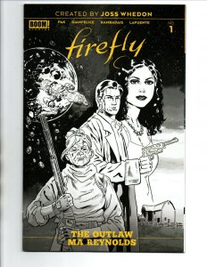 Firefly The Outlaw Ma Reynolds #1 1:25 Variant - Boom - 2020 - NM