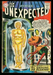 TALES OF THE UNEXPECTED #66 1961 DC SPACE RANGER SCI-FI VG