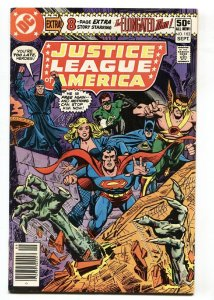 JUSTICE LEAGUE OF AMERICA #182 1980- Superman- Batman DC comic book