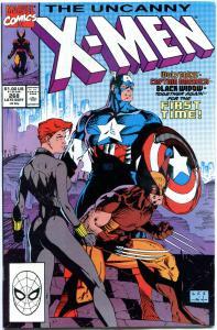 X-MEN #268, VF+, Wolverine, Captain America, Claremont, Uncanny, more in store