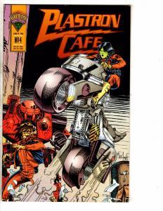 10 INDY Comics Plastron Cafe Fat Ninja Shanghai Turaxx Peace Future + MORE J227