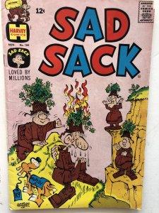 Sad sack#183, VF, sack goes invisible!!