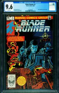 Blade Runner #1-CGC 9.6-Al Williamson-Marvel-2006680003
