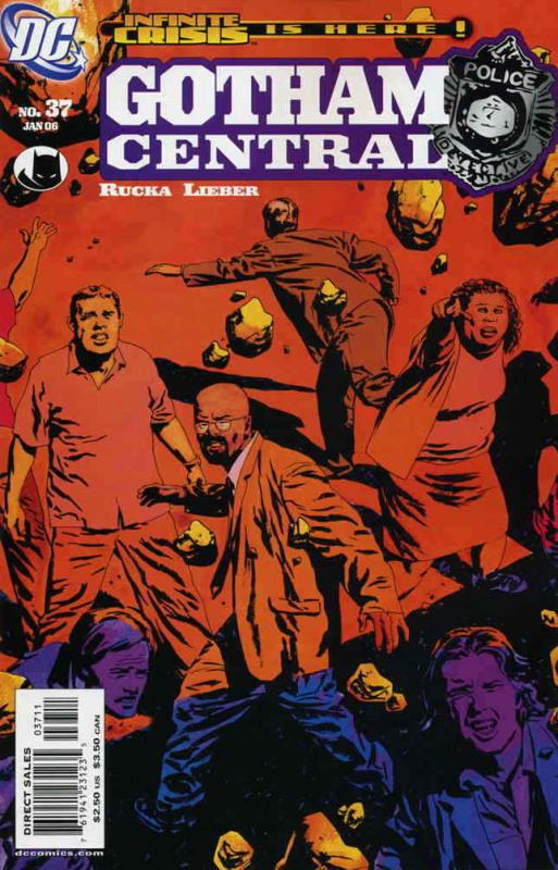 Gotham Central #37 VF; DC | save on shipping - details inside