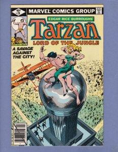 Tarzan #28 FN Marvel 1979
