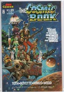 Cosmic Book #1 Very Rare Copper Age MW221