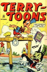 Terry-Toons Comics (1942 series) #24, Good+ (Stock photo)