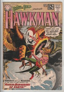 Brave and the Bold, The #43 (Sep-62) FN Mid-Grade Hawkman