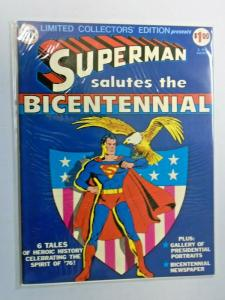 Superman Salutes The Bicentennial #C47 Treasury bagged boarded 8.0 VF (1976)