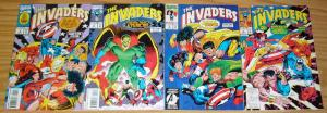 Invaders v2 #1-4 VF/NM complete series WWII HEROES captain america namor torch