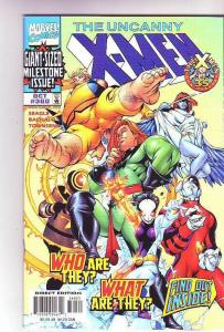 X-Men #360 (Oct-98) NM+ Super-High-Grade X-Men Etched Foil Cover Wow