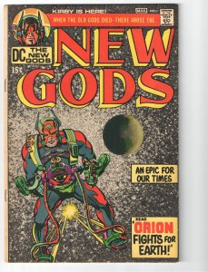 NEW GODS 1  F/VF 7.0(1971) 1st APP NEW GODS!! 8 KEY FIRSTS! KIRBY!