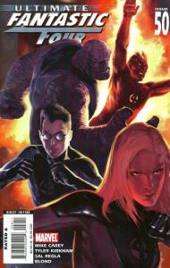 Ultimate Fantastic Four #50, NM (Stock photo)