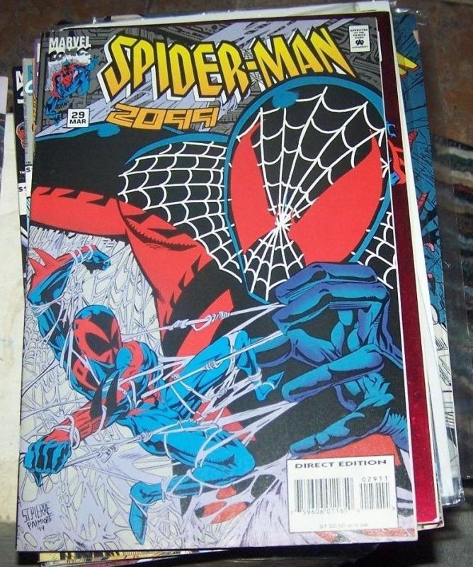 Spider-Man 2099 #29 (Mar 1995, Marvel) miguel ohara