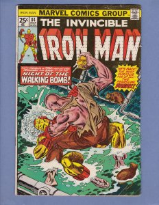 Iron Man #84 GD/VG Marvel 1976