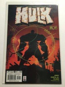 Incredible Hulk 37 Near Mint Nm Marvel