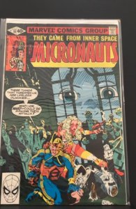 Micronauts #18 (1980)