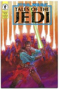 STAR WARS Tales of the JEDI #1 2 3 4 5, VF+, Dave Dorman, Tom Veitch, 1993