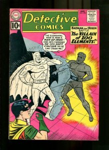DETECTIVE COMICS 294-1961-THE VILLAIN OF 100 ELEMENTS FN/VF