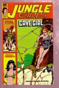 JUNGLE GIRLS #2 1989 NYOKA CAVE GIRL-VICTORIA VERTI PIX VF