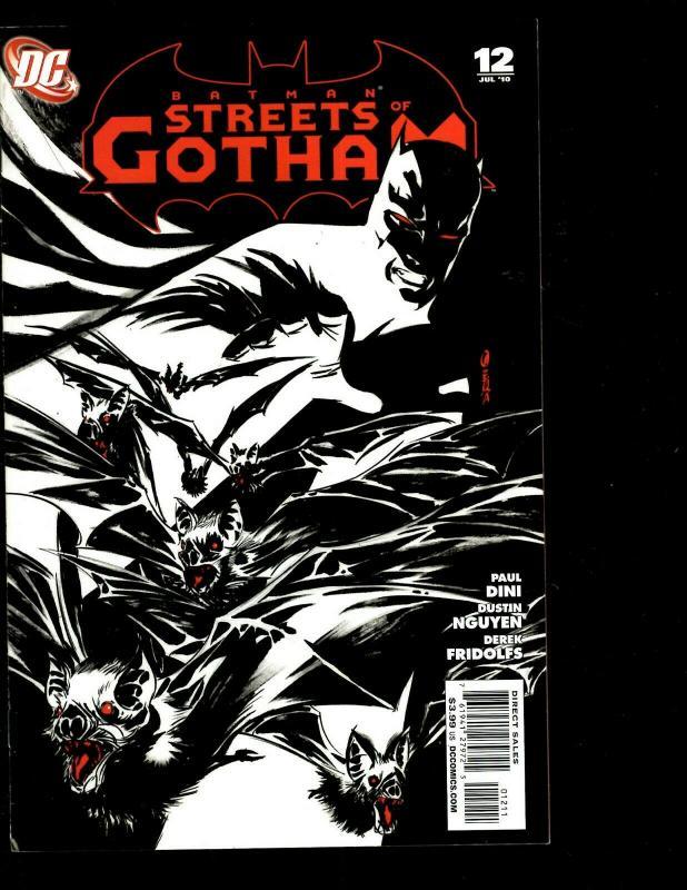 Lot of 8 Streets of Gotham DC Comics 10 11 12 14 15 17 18 19 Batman Joker SM11