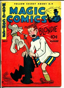 Magic #97 1947-McKay-Mandrake-Dagwood-Ray Crane-Popeye-Lone Ranger-Blondie-VF-